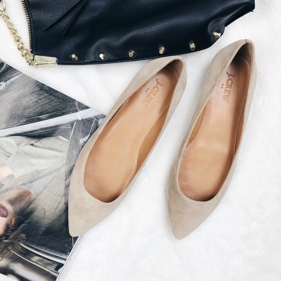 J. Crew Shoes   J Crew Suede Pointed
